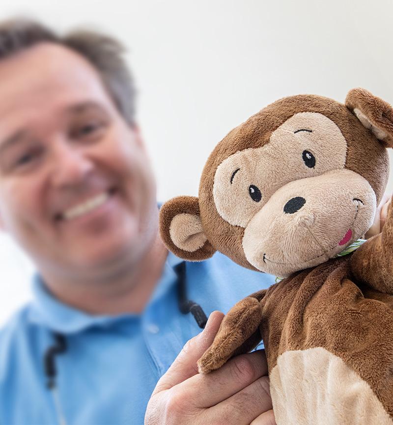 Michael Knapp Zahnarztpraxis Fulda – Kinderzahnheilkunde Affe